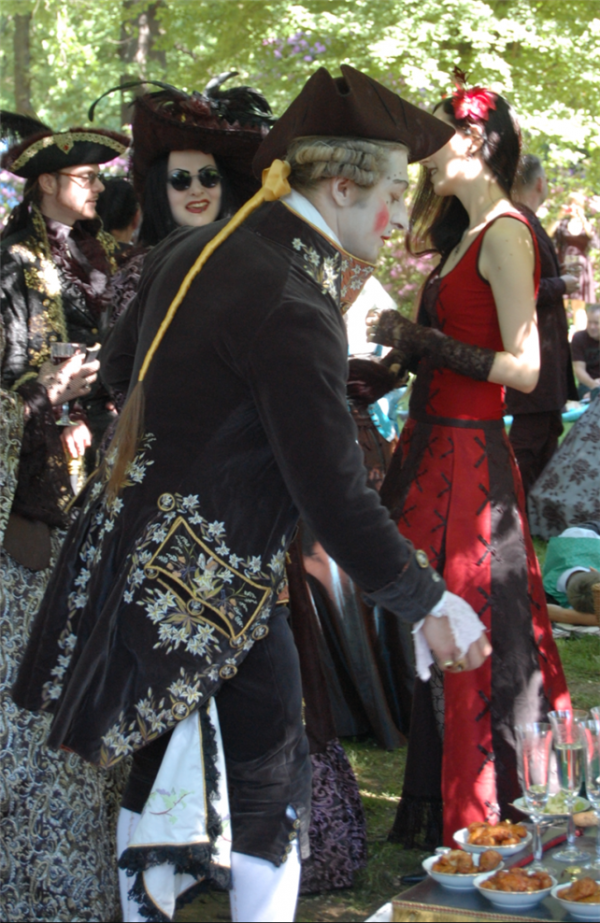 Викторианский пикник (Фото 43)