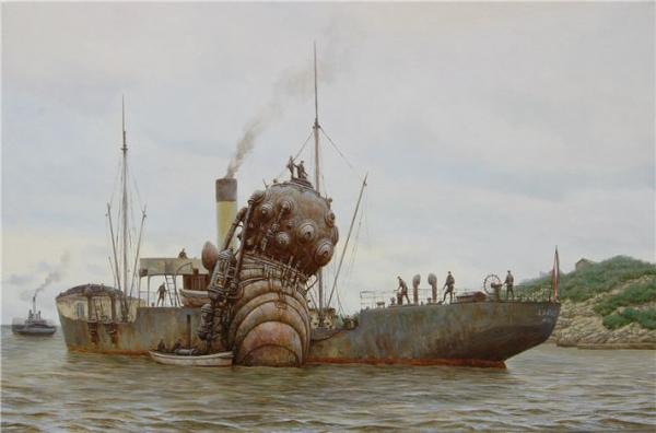 Подводный солдат