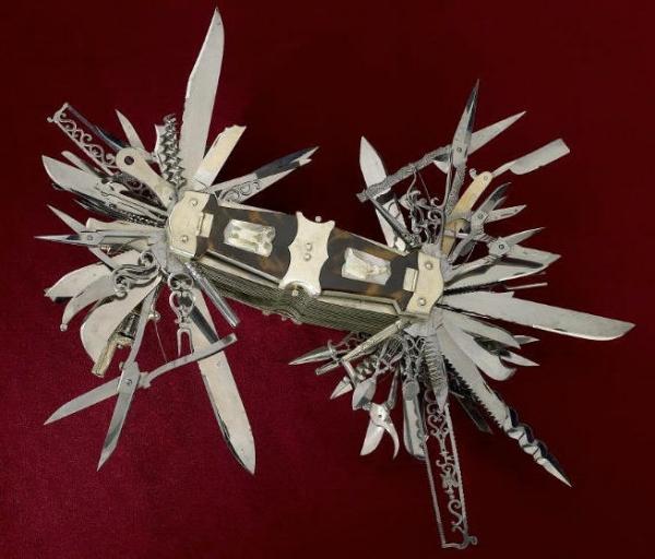 Нож из коллекции Смитсоновского института