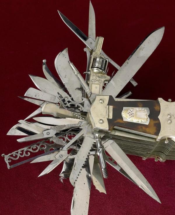 Нож из коллекции Смитсоновского института (Фото 2)