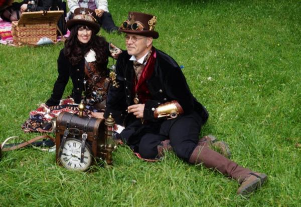 Wave-Gotik-Treffen 2016. steampunk picnic