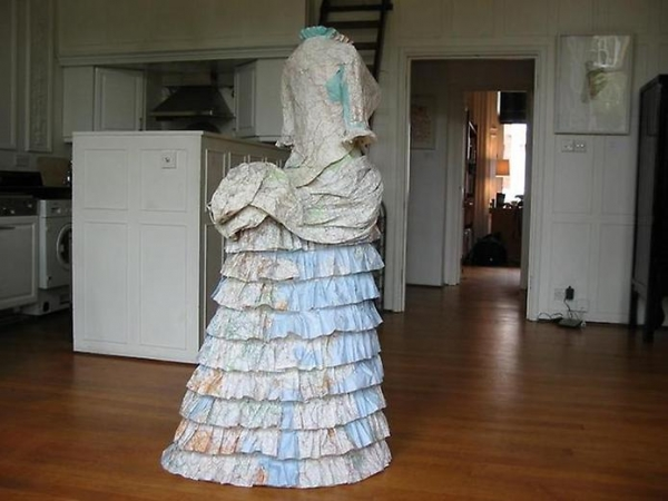 Платья из карт викторианской эпохи Сьюзан Стоквелл (Фото 3)