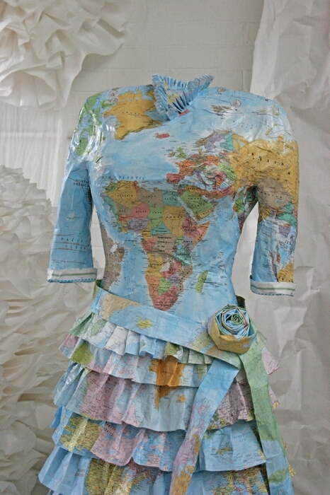 Платья из карт викторианской эпохи Сьюзан Стоквелл (Фото 8)