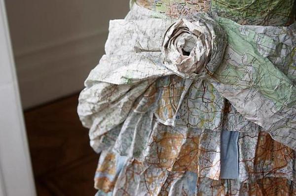 Платья из карт викторианской эпохи Сьюзан Стоквелл (Фото 5)