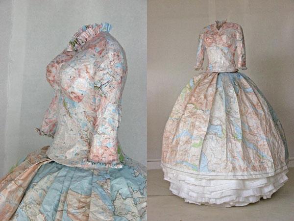 Платья из карт викторианской эпохи Сьюзан Стоквелл (Фото 6)