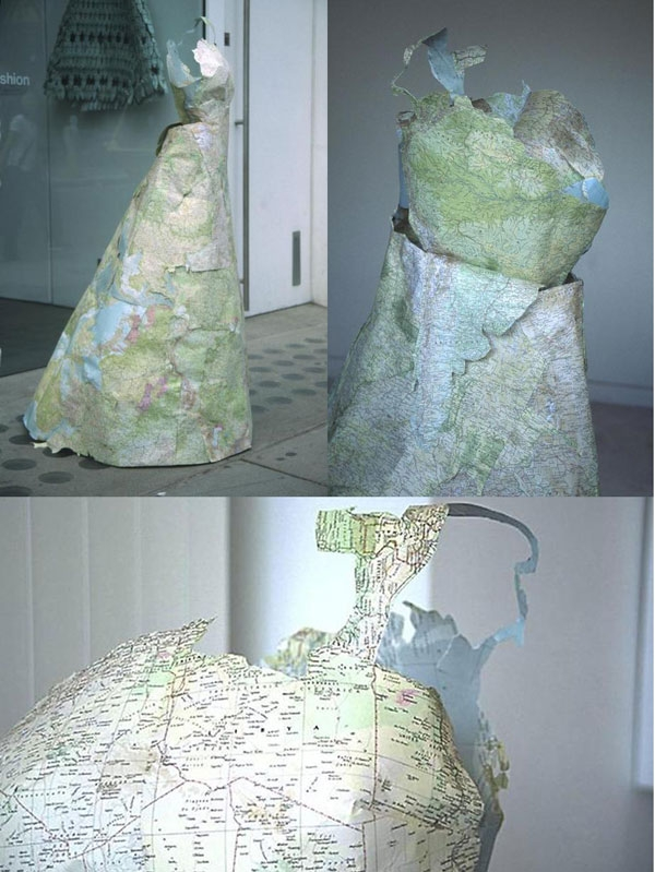 Платья из карт викторианской эпохи Сьюзан Стоквелл (Фото 2)
