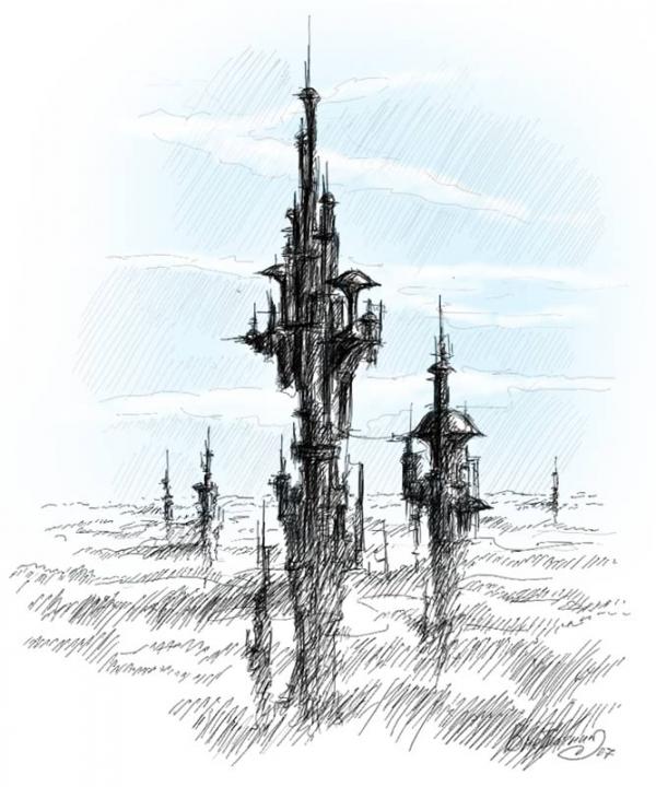Сборный пост: Города и их осколки (Фото 2)