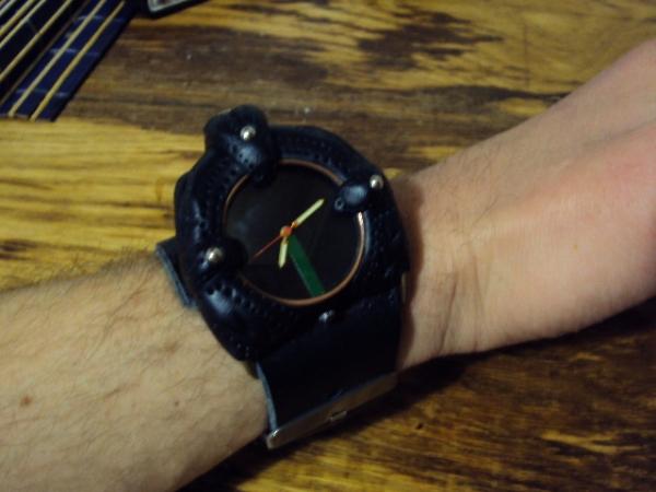 Часы из глины 2