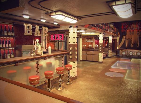 Анти-кафе в стиле Steampunk (Фото 5)