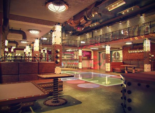 Анти-кафе в стиле Steampunk (Фото 4)