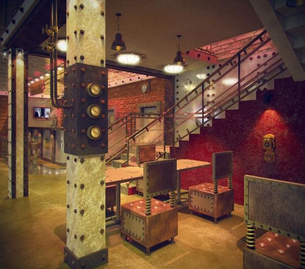 Анти-кафе в стиле Steampunk (Фото 2)