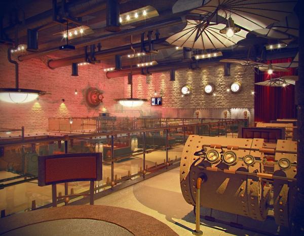 Анти-кафе в стиле Steampunk (Фото 3)