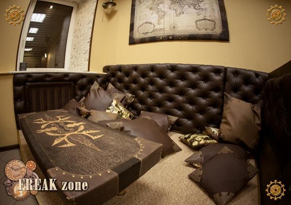 """Итак дата определена! 15 декабря долгожданное открытие первого в России стимпанк анти-кафе """"Freak Zone"""" (Фото 2)"""