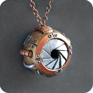 Механическое глазное яблоко