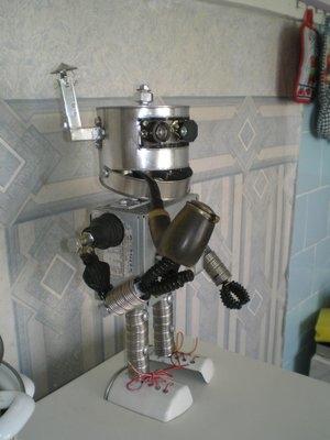 """Робот """"Пушистик"""" - подарок на прошедший новогод. Или история одной аватарки. (Фото 3)"""