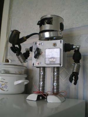 """Робот """"Пушистик"""" - подарок на прошедший новогод. Или история одной аватарки. (Фото 2)"""