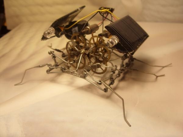 паучки из проволочек. Ну не совсем паучки.. ну не только из проволочек )) (Фото 13)