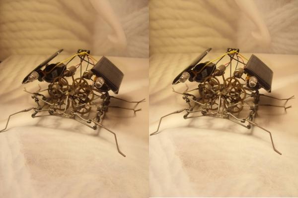 паучки из проволочек. Ну не совсем паучки.. ну не только из проволочек )) (Фото 17)