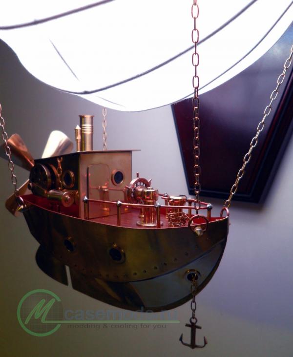 Светильник-дирижабль (Фото 7)