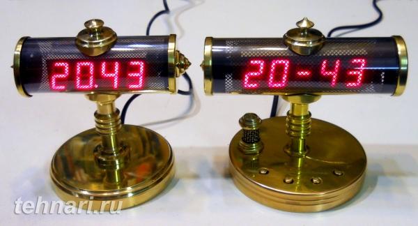 Электронные часы в стиле стимпанк. Развитие первоначальной идеи