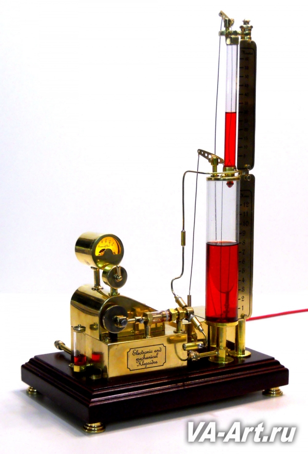 Электронно-механическая клепсидра Течение времени