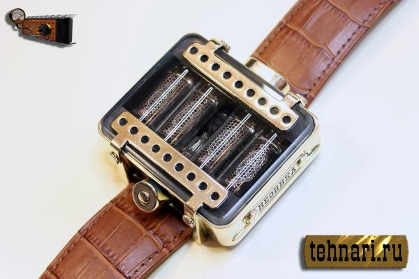 Наручные часы на газоразрядных индикаторах Неоника