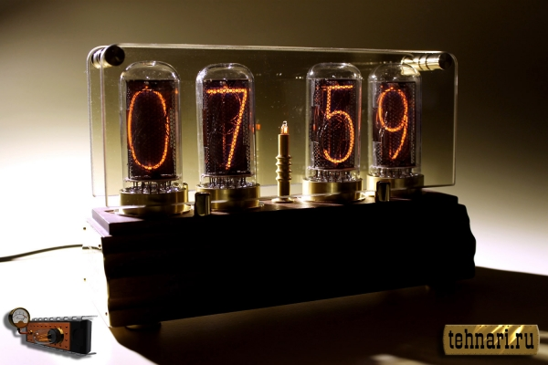 Часы Неонтайм на газоразрядных индикаторах