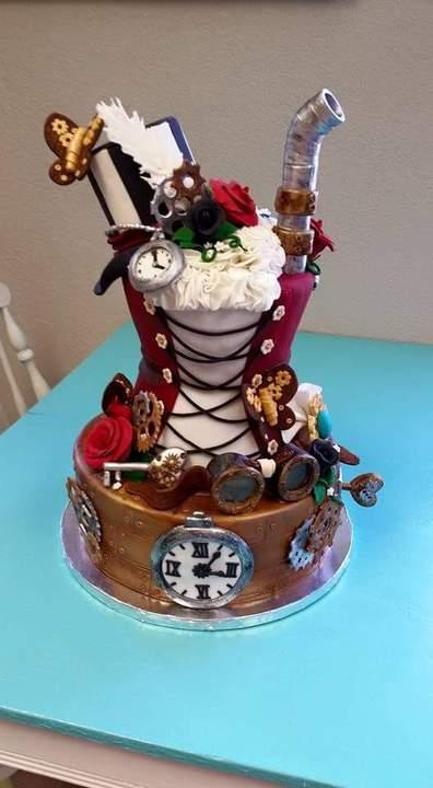 Стимпанк тортик