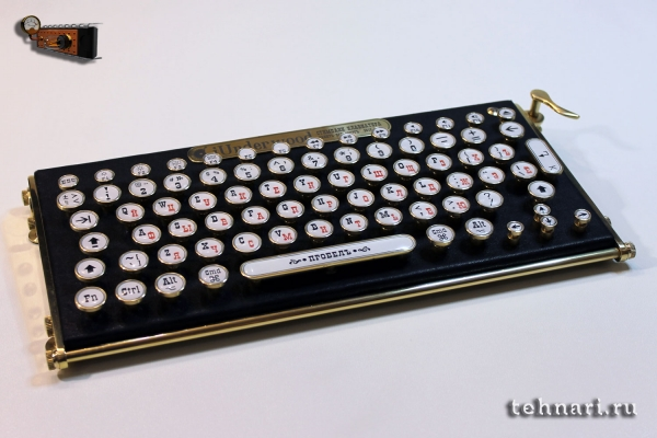 Стипанк клавиатура iUnderwood