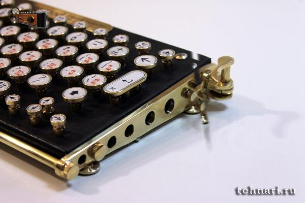 Стимпанк клавиатура iUnderwood