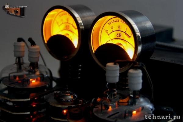 Стилизация лампового усилителя