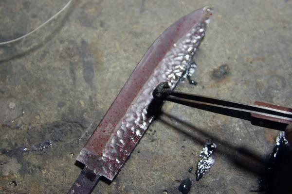 Переделка ножа