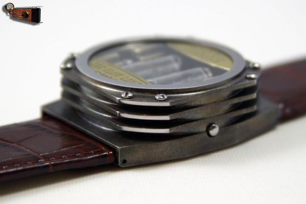 Часы на накальных индикаторах Warlock
