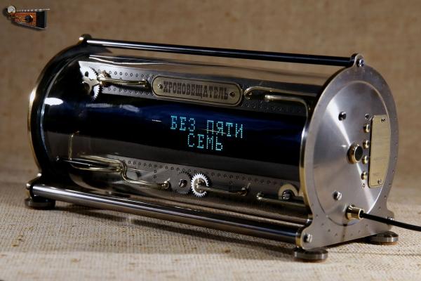 Настольные текстовые часы «Хроновещатель»