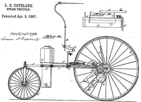 Steam-трициклы (патенты)