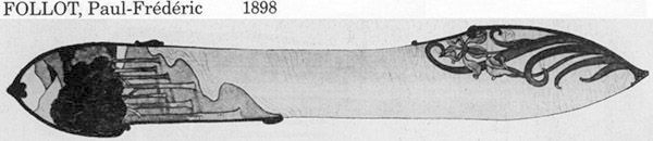 Ножи для бумаги начала XX в. (Фото 3)