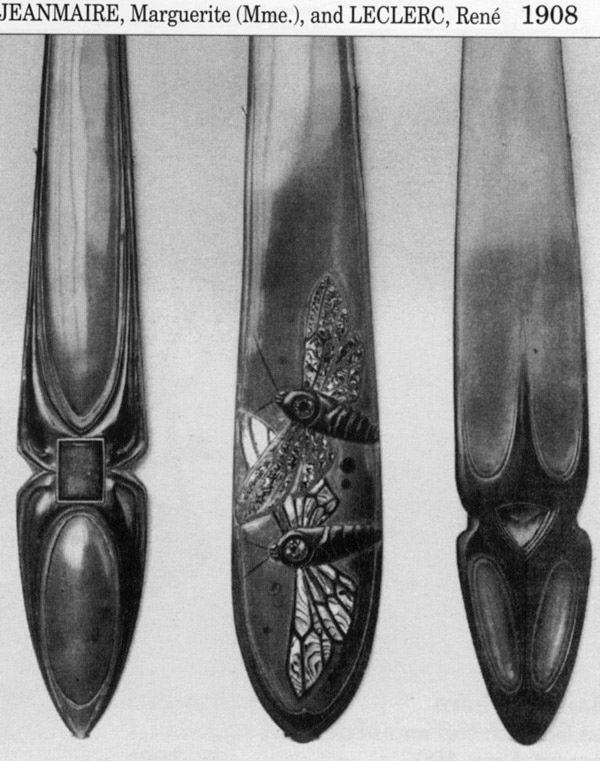 Ножи для бумаги начала XX в. (Фото 24)