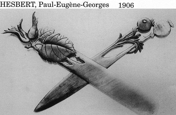 Ножи для бумаги начала XX в. (Фото 15)