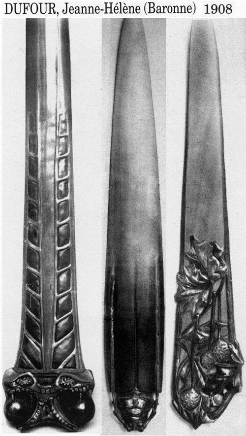 Ножи для бумаги начала XX в. (Фото 22)