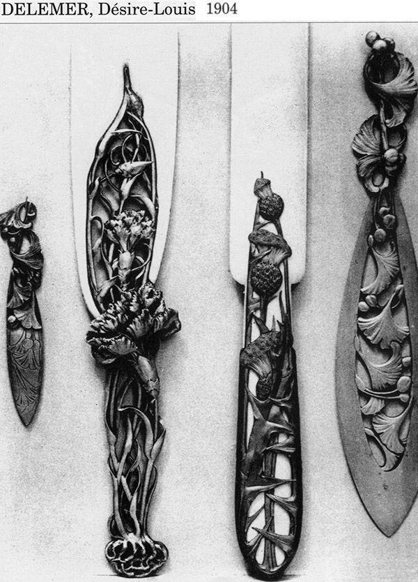 Ножи для бумаги начала XX в. (Фото 13)