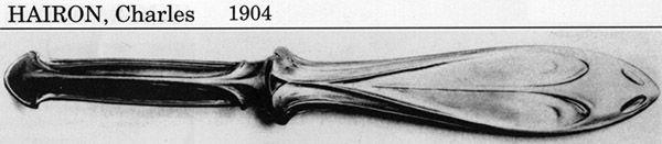 Ножи для бумаги начала XX в. (Фото 12)