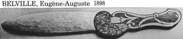 Ножи для бумаги начала XX в. (Фото 4)