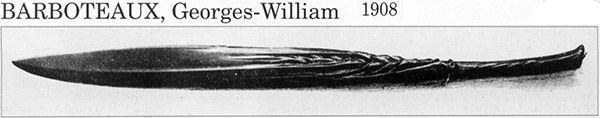 Ножи для бумаги начала XX в. (Фото 21)