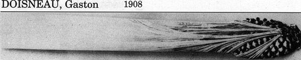 Ножи для бумаги начала XX в. (Фото 23)