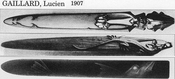 Ножи для бумаги начала XX в. (Фото 20)