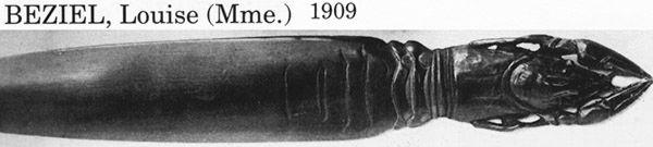 Ножи для бумаги начала XX в. (Фото 27)