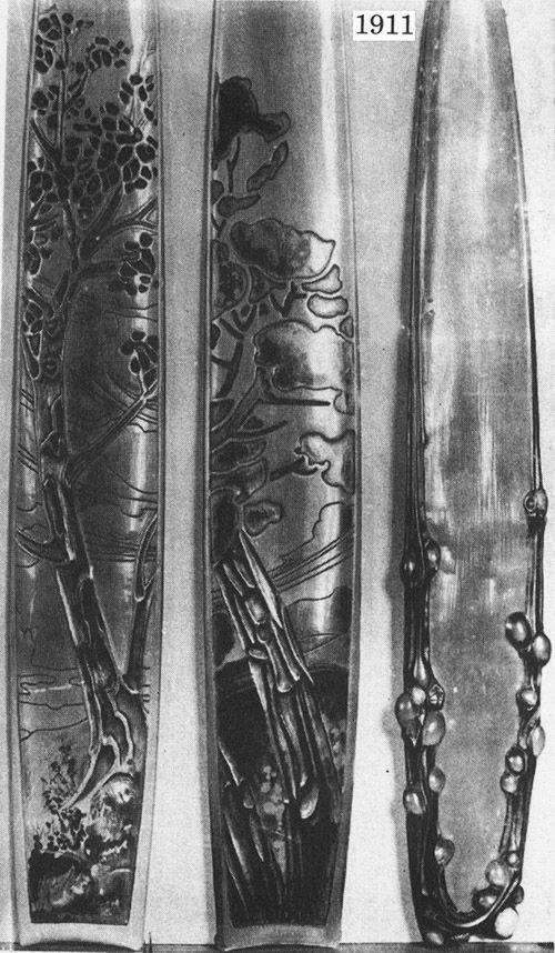 Ножи для бумаги начала XX в. (Фото 25)