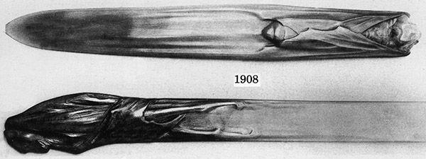 Ножи для бумаги начала XX в. (Фото 28)