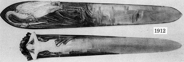 Ножи для бумаги начала XX в. (Фото 34)