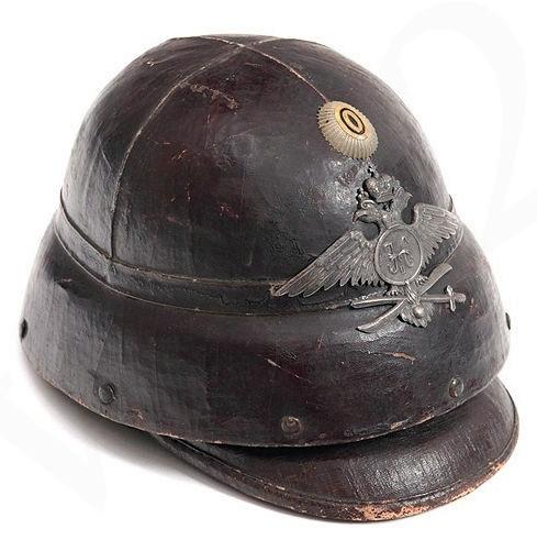 Шлем воздухоплавательных частей, Российская Империя